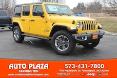 New 2018 Jeep Wrangler UNLIMITED SAHARA 4X4 Sport Utility 11287 for sale in Farmington, MO