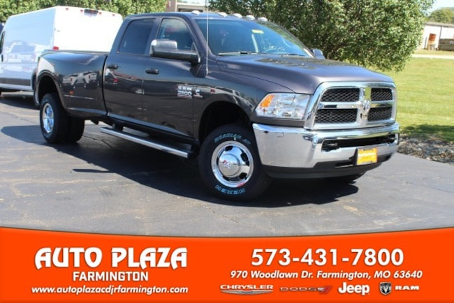 New 2018 Ram 3500 TRADESMAN CREW CAB 4X4 8' BOX Crew Cab in Farmington, MO
