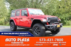 New 2020 Jeep Wrangler UNLIMITED RUBICON RECON 4X4 Sport Utility for sale in Farmington, MO