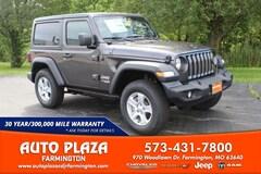 New 2020 Jeep Wrangler SPORT S 4X4 Sport Utility for sale in Farmington, MO