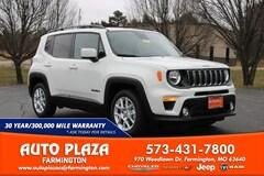 New 2020 Jeep Renegade LATITUDE FWD Sport Utility for sale in Farmington, MO