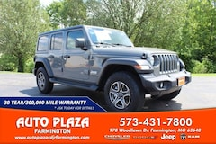 New 2020 Jeep Wrangler UNLIMITED SPORT S 4X4 Sport Utility for sale in Farmington, MO