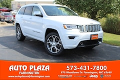 New 2020 Jeep Grand Cherokee OVERLAND 4X4 Sport Utility for sale in Farmington, MO