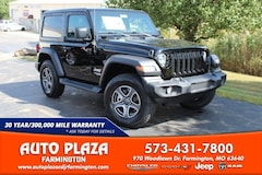 New 2020 Jeep Wrangler SPORT S 4X4 Sport Utility for sale in Farmington, MO