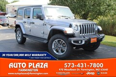 New 2020 Jeep Wrangler UNLIMITED SAHARA 4X4 Sport Utility for sale in Farmington, MO