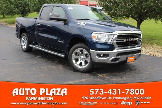 New 2019 Ram 1500 BIG HORN / LONE STAR QUAD CAB 4X4 6'4 BOX Quad Cab in Farmington, MO