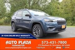 New 2021 Jeep Cherokee 80TH ANNIVERSARY 4X4 Sport Utility for sale in Farmington, MO