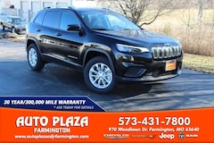 New 2020 Jeep Cherokee LATITUDE 4X4 Sport Utility for sale in Farmington, MO