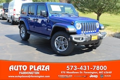 New 2018 Jeep Wrangler UNLIMITED SAHARA 4X4 Sport Utility 11047 for sale in Farmington, MO