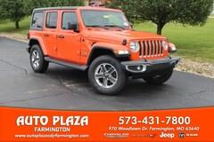 New 2018 Jeep Wrangler UNLIMITED SAHARA 4X4 Sport Utility 11037 for sale in Farmington, MO