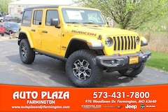 New 2019 Jeep Wrangler UNLIMITED RUBICON 4X4 Sport Utility 11360 for sale in Farmington, MO