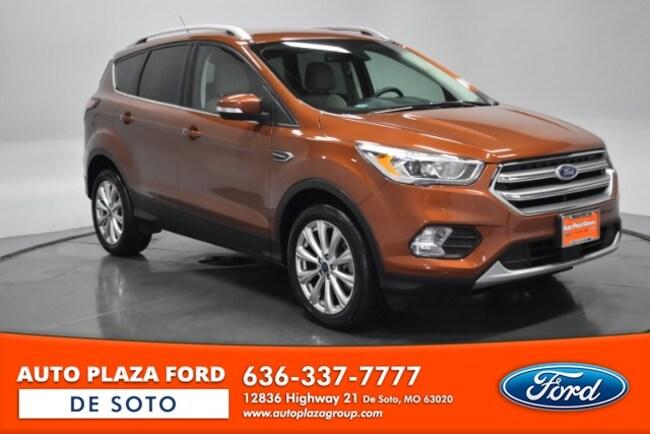 Used 2017 Ford Escape Titanium SUV For Sale De Soto, MO