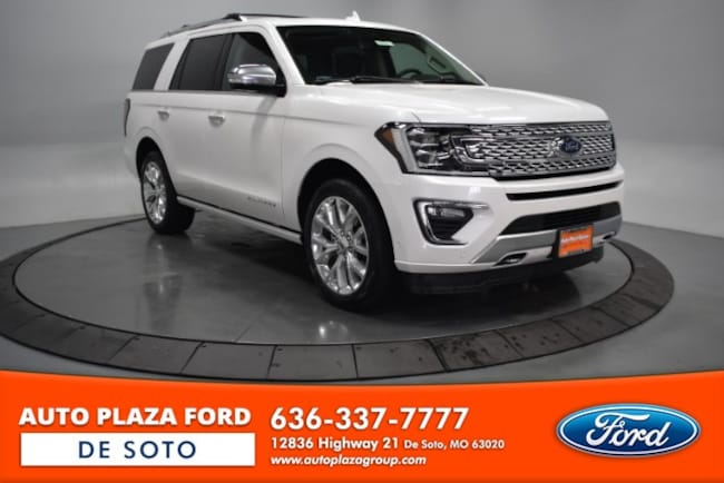 New 2019 Ford Expedition Platinum SUV For Sale/Lease De Soto, MO