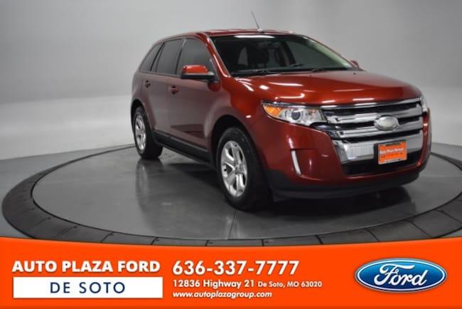 Used 2014 Ford Edge SEL SUV For Sale De Soto, MO