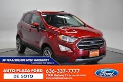 2020 Ford EcoSport Titanium 4WD SUV