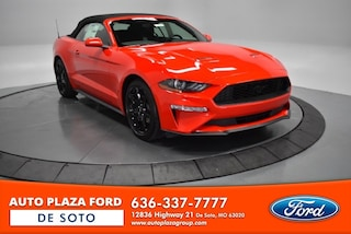 New 2019 Ford Mustang Ecoboost Convertible For Sale DeSoto MO