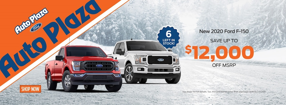 New 2020 Ford F-150 Offer
