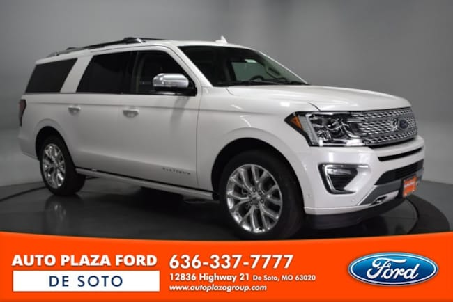 New 2019 Ford Expedition Max Platinum SUV For Sale/Lease De Soto, MO