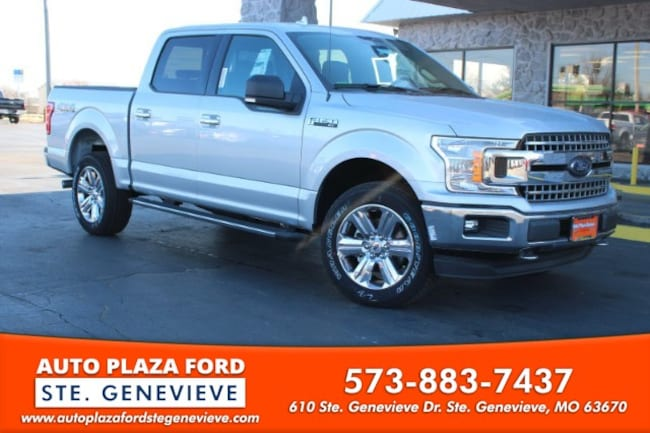 New 2018 Ford F-150 4WD XLT Supercrew Truck For Sale/Lease Genevieve, MO