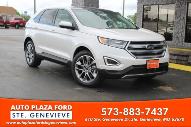 New 2018 Ford Edge Titanium SUV For Sale/Lease Genevieve, MO