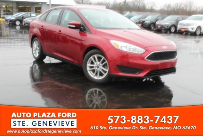 used 2016 Ford Focus SE Sedan For sale Sainte Genevieve, MO