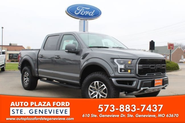 New 2018 Ford F-150 4WD Raptor Supercrew Truck For Sale/Lease Genevieve, MO