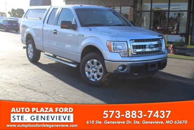 used 2014 Ford F-150 4WD XLT Supercab Truck For sale Sainte Genevieve, MO