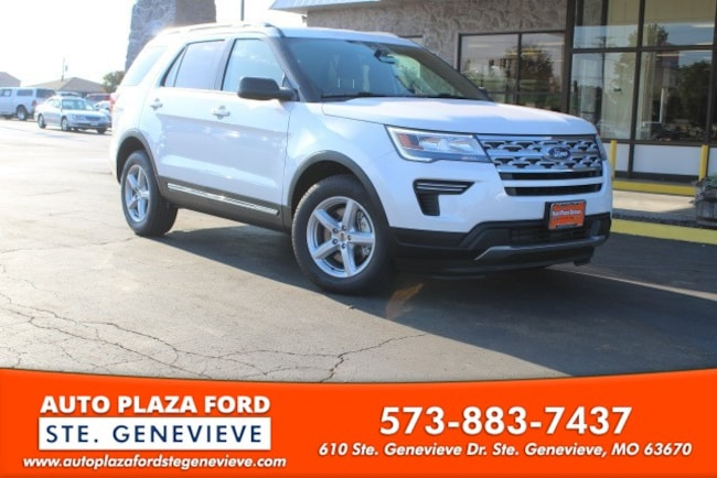 New 2018 Ford Explorer XLT SUV For Sale/Lease Genevieve, MO
