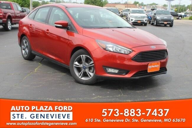 used 2018 Ford Focus SE Sedan For sale Sainte Genevieve, MO