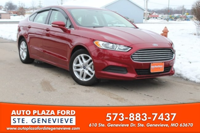used 2016 Ford Fusion SE Sedan For sale Sainte Genevieve, MO