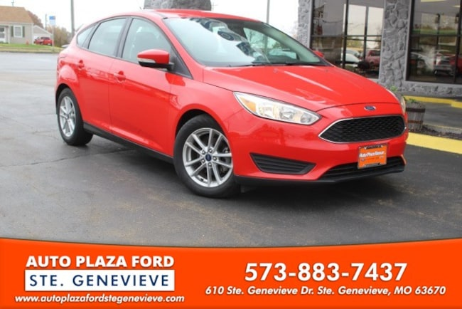 used 2016 Ford Focus SE Hatchback For sale Sainte Genevieve, MO