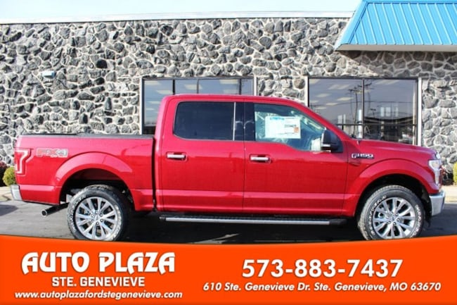 New 2017 Ford F-150 4WD XLT Supercrew Truck For Sale Genevieve, MO