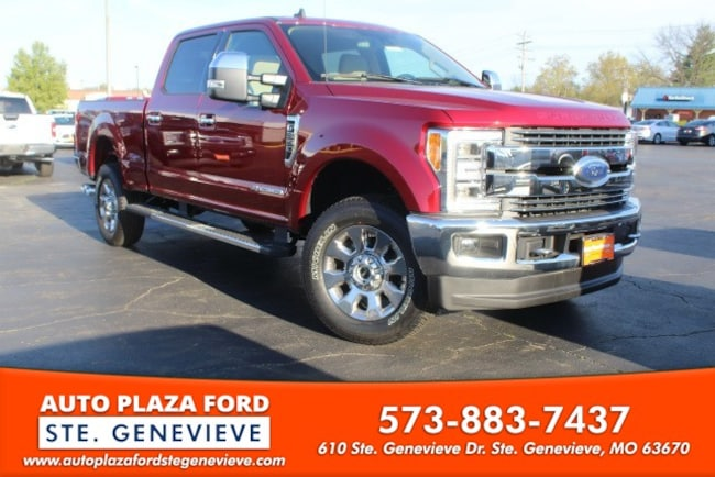 New 2019 Ford Super Duty F-350 SRW 4WD Lariat Crew Cab Truck For Sale/Lease Genevieve, MO