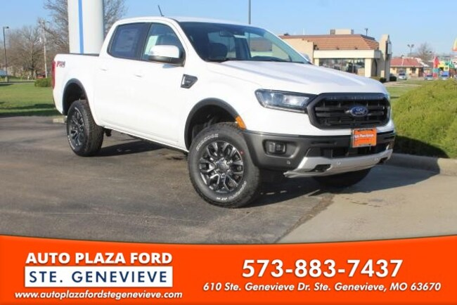 New 2019 Ford Ranger 4WD Lariat Supercrew Truck For Sale/Lease Genevieve, MO