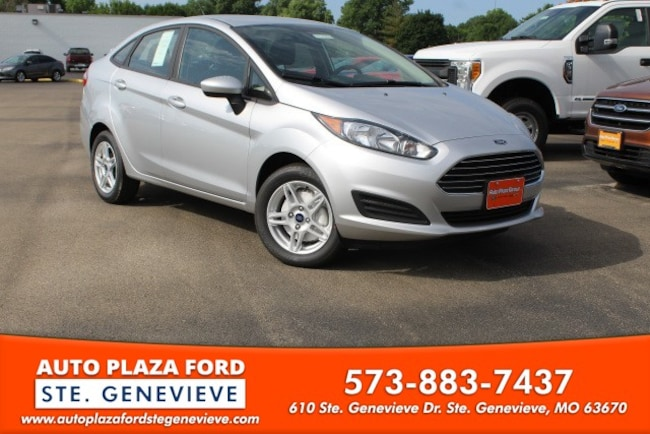 New 2018 Ford Fiesta SE Sedan For Sale/Lease Genevieve, MO
