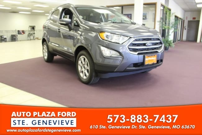 New 2018 Ford EcoSport SE SUV For Sale/Lease Genevieve, MO