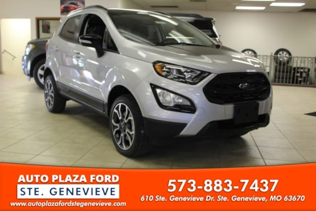 New 2019 Ford EcoSport SES SUV For Sale/Lease Genevieve, MO