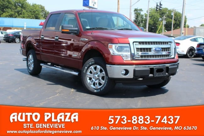 used 2014 Ford F-150 4WD XLT Supercrew Truck For sale Sainte Genevieve, MO
