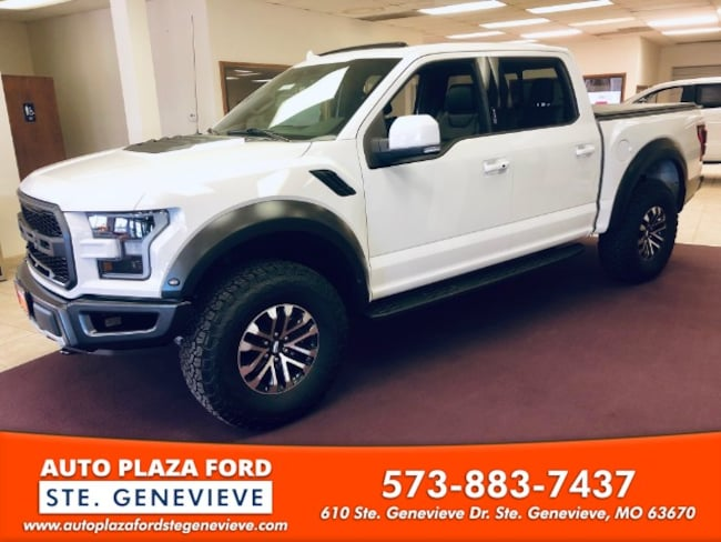 New 2019 Ford F-150 4WD Raptor Supercrew Truck For Sale/Lease Genevieve, MO