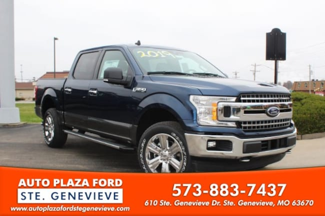 New 2019 Ford F-150 4WD XLT Supercrew Truck For Sale/Lease Genevieve, MO