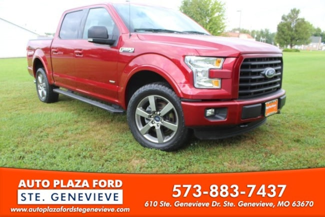 used 2015 Ford F-150 4WD XLT Supercrew Truck For sale Sainte Genevieve, MO
