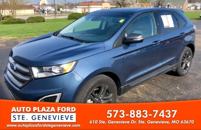 used 2018 Ford Edge 2WD SEL SUV For sale Sainte Genevieve, MO