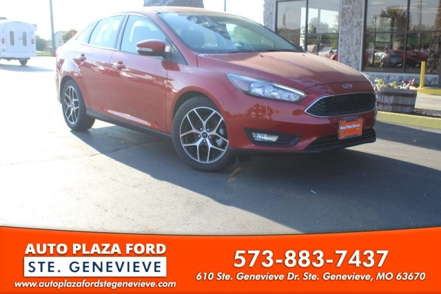 2018 Ford Focus Sedan SEL Sedan