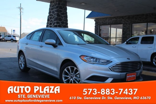 New 2017 Ford Fusion SE Sedan For Sale/Lease Genevieve, MO