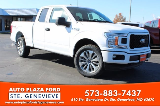 New 2018 Ford F-150 4WD XL Supercab Truck For Sale/Lease Genevieve, MO