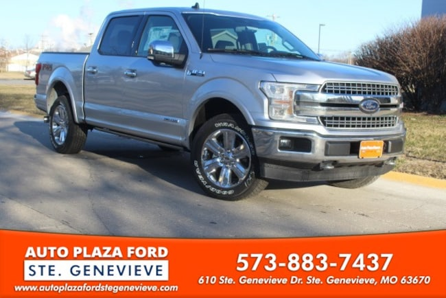 New 2019 Ford F-150 4WD Lariat Supercrew Truck For Sale/Lease Genevieve, MO
