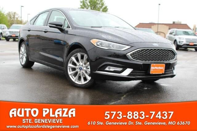 2017 Ford Fusion Platinum Sedan