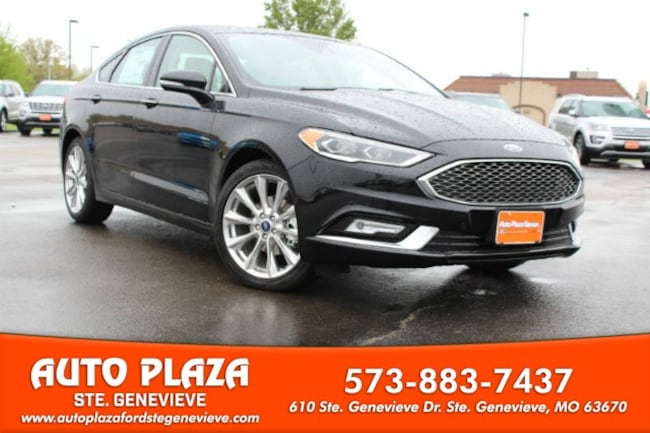 New 2017 Ford Fusion Platinum Sedan For Sale/Lease Genevieve, MO