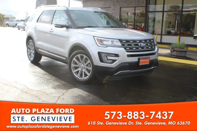 used 2017 Ford Explorer Limited SUV For sale Sainte Genevieve, MO
