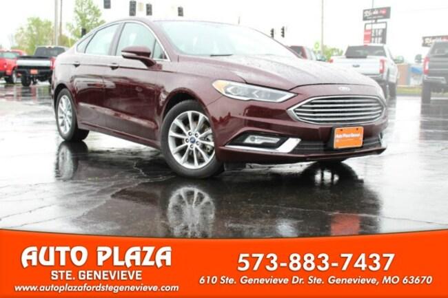 used 2017 Ford Fusion SE Sedan For sale Sainte Genevieve, MO